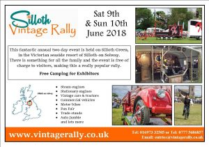 Vintage Rally poster