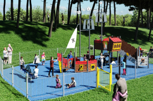 silloth green play area